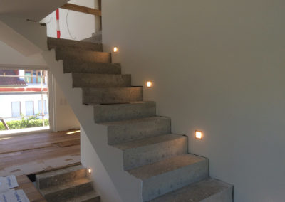 Treppenaufgang Wohnhaus